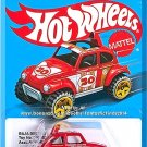 Hot Wheels - Baja Beetle: 2016 Target Retro Style Series #DNF30 *Red Edition*