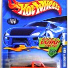 Hot Wheels - 1996 Chevy 1500: Collector #178 (2002) *Orange Edition*