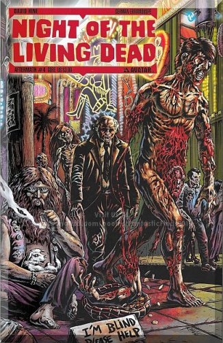 Night Of The Living Dead: Aftermath #4 (2013) *Modern Age / Avatar / Gore Cover*