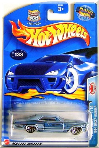 Hot Wheels - 1964 Buick Riviera: Pride Rides #1/10 - Collector #133 (2003)