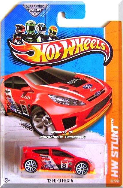 Hot Wheels - '12 Ford Fiesta: HW Stunt 2013 - Road Rally #92/250 *Treasure Hunt*