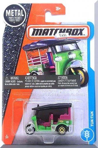 Matchbox - Tuk-Tuk: MBX Adventure City #6/125 (2017) *Green Edition*