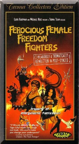 VHS - Ferocious Female Freedom Fighters: Collector's Edition (1982) *Eva Arnez*