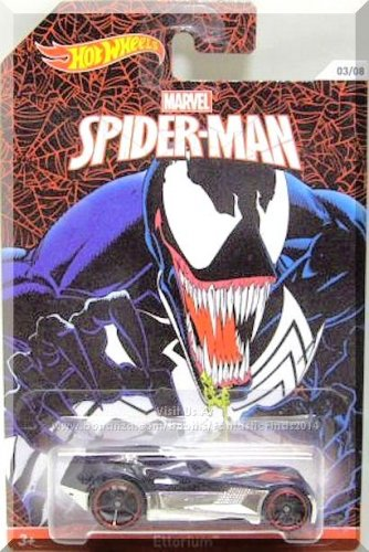 Hot Wheels - Ettorium: 2014 Marvel Spider-Man Series #03/08 *Birth Of Venom*