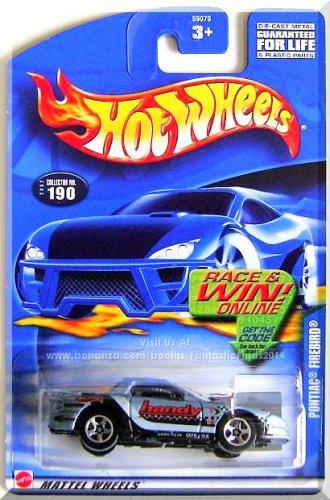 Hot Wheels - Pontiac Firebird: Collector #190 (2002) *Blue Edition / Race & Win*
