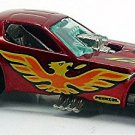 Hot Wheels - Firebird Funny Car: Collector #3250 (1983) *Dark Red / Loose*