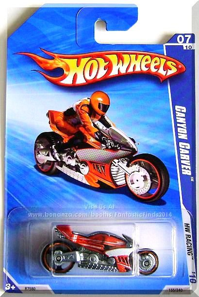 Hot Wheels - Canyon Carver: HW Racing '10 #07/10 - #155/240 *Orange Edition*