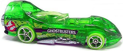 Hot Wheels - Power Rocket: Ghosterbusters Series #8/8 (2017) *Green / Loose*