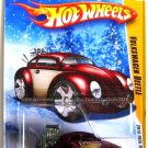 Hot Wheels - Volkswagen Beetle: 2010 New Models #04/44 - #004/240 *Burgundy*