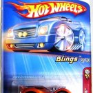 Hot Wheels - L'BLING: 2005 First Editions #3/10 - Collector #033 *Orange*