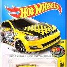 Hot Wheels - Volkswagen Golf MK7: HW Art Cars #6/10 - #16/365 (2017) *Yellow*