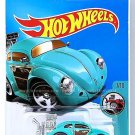 Hot Wheels - Volkswagen Beetle: Tooned #7/10 - #74/365 (2017) *Turquoise*