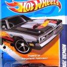 Hot Wheels - '71 Dodge Demon: HW Racing '12 #7/10 - 177/247 *Black Edition*