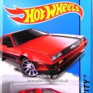 Hot Wheels - '81 Delorean DMC-12: HW City 2014 - Speed Team #33/250 *Red*