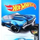 Hot Wheels - '70 Chevy Chevelle: Nightburnerz #7/10 - #310/365 (2017) *Blue*