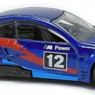 Hot Wheels - BMW M3 GT2: BMW 100th Anniversary Series #5/8 (2016) *Blue / Loose*