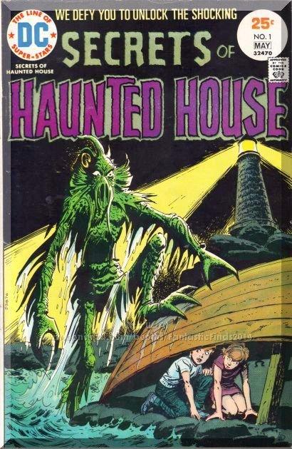 Secrets Of Haunted House #1 (1975) *Bronze Age / DC Comics / Classic Horror*