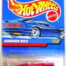 Hot Wheels - Auburn 852: Collector #215 (1998) *Red Edition / Black Fenders*