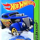 Hot Wheels - Pass 'N Gasser: HW Workshop 2015 - Heat Fleet #209/250 *Blue*