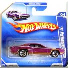 Hot Wheels - '71 Plymouth GTX: '09 Muscle Mania #04/10 - Collector #080 *Purple*