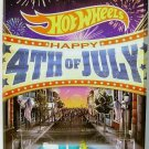 Hot Wheels - Volkswagen Beetle: Happy 4th Of July #05/06 (2014) *Kroger Excl.*