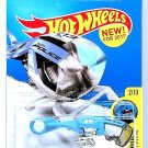 Hot Wheels - Sky Fi: HW City Works #2/10 - #259/365 (2017) *Blue Edition*