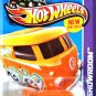 Hot Wheels - Volkswagen Kool Kombi: HW Hot Trucks #169/250 (2013) *Orange*