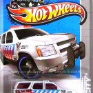 Hot Wheels - '07 Chevy Tahoe: HW City 2013 - HW Rescue #13/250 *White Edition*