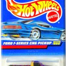 Hot Wheels - Ford F-Series CNG Pickup: Collector #908 (1999) *Purple Edition*