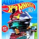 Hot Wheels - Bazoomka: HW Fun Park #5/5 - #60/365 (2018) *Dark Red Edition*