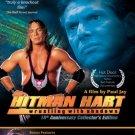 HITMAN HART 10TH ANNIVERSARY DVD + LIFE & DEATH OF OWEN HART + ORIGINAL LOBBY POSTERS