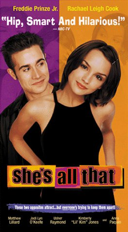 SHE'S ALL THAT ORIGINAL VHS COMEDY MOVIE