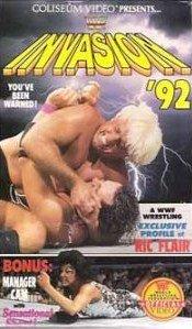 WWF/WWE ORIGINAL WRESTLING VHS INVASION '92
