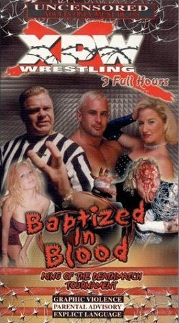 XPW NEW WRESTLING VHS BAPTIZED IN BLOOD