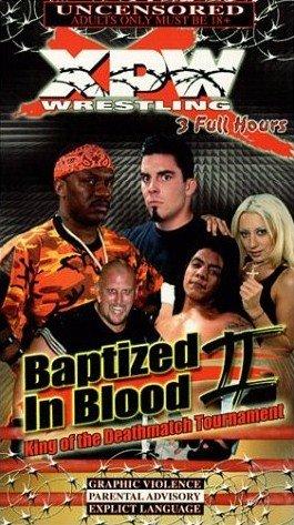 XPW NEW WRESTLING VHS BAPTIZED IN BLOOD II