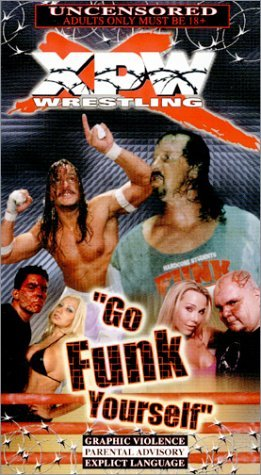XPW NEW WRESTLING VHS GO FUNK YOURSELF