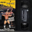 WCW THE BEST OF SLAMBOREE ORIGINAL WRESTLING VHS