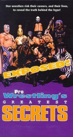EXPOSED! PRO WRESTLING'S GREATEST SECRETS ORIGINAL VHS
