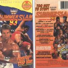 WWF/WWE SUMMERSLAM 1993 ORIGINAL WRESTLING VHS