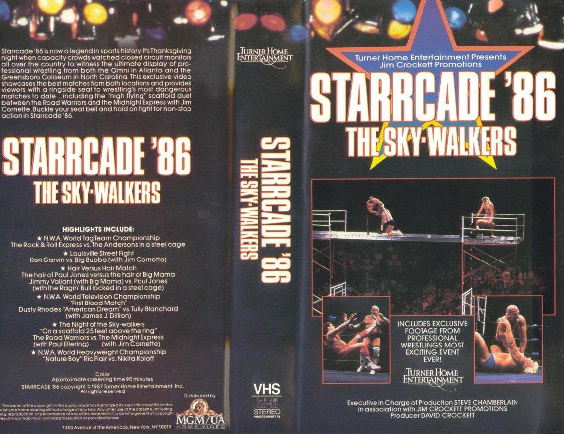 Nwa Wcw Starrcade 1986 Original Wrestling Vhs