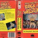 ORIGINAL WWF-WWE VHS HULK HOGAN ROCK 'N'WRESTLING THE WRONG STUFF - THREE LITTLE HULKS