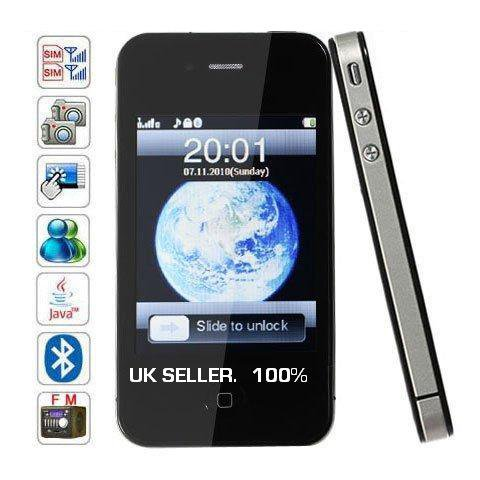 I69 4G mobile quadband dual sim phone.Touch screen
