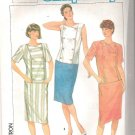 1985 Simplicity 6794 Pattern Double Breasted  Dress Size 6-8 Cut to 8