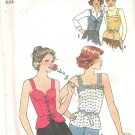 1977 Simplicity 8072 Pattern Vintage Camisole Top Size 14  Cut