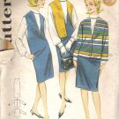 Butterick 3183 Pattern Jumper Dress, Jacket, Blouse Top Shirt  Size14 Cut