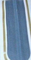 "14"" J&P Coats Treasure Blue All Purpose Polyester Zipper"