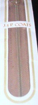 """22"""" J&P Coats Lilac All Purpose Metal Zipper"""