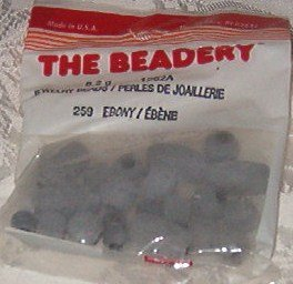 Beadeery Ebony (Gray) Jewelry Beads