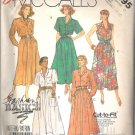 McCalls 2895 (1986) Cut to Fit Petite-able Pattern Dress Belt  Size 12, 14, 16  Partial Cut