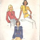 Butterick 3055 Vintage Pattern Blouse Top Shirt  Size 10  Cut